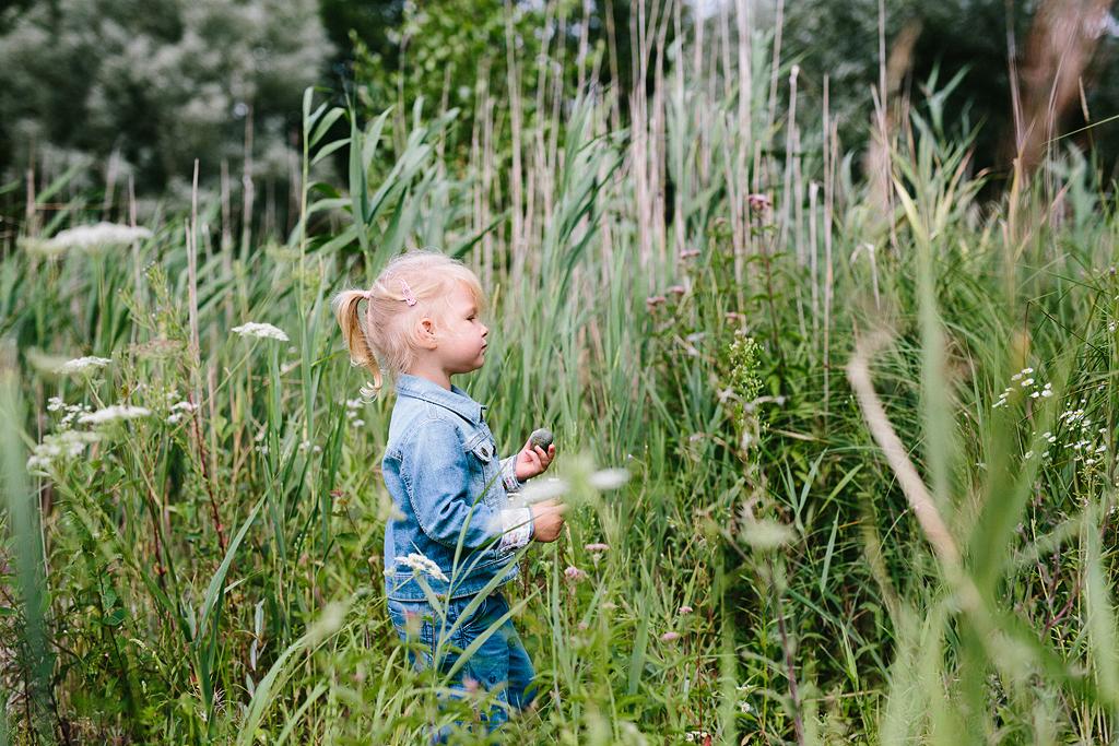 Kinderfotos in der Natur