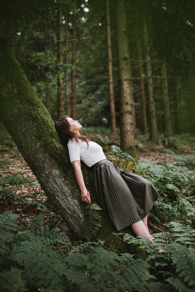 feminines Fotoshooting im Chiemgau